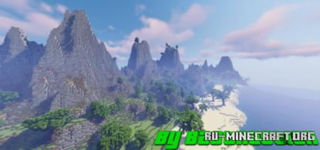 Скачать Survival Tropical Islands by Bastraction для Minecraft PE