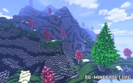 Скачать Surviving In The Sky by PhUnknown7 для Minecraft PE