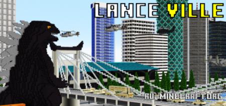 Скачать Lance Ville (First Release) для Minecraft PE
