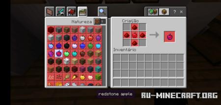 Скачать Apple Plus для Minecraft PE 1.16