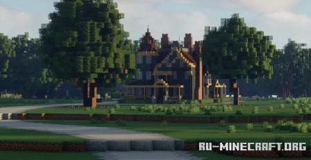 Скачать Graywood Victorian Mansion для Minecraft