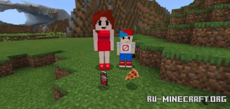 Скачать Friday Night Funkin для Minecraft PE 1.16
