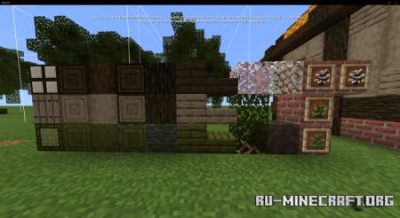 Скачать Nature's Spirit (A Nature Overhaul) для Minecraft PE 1.16