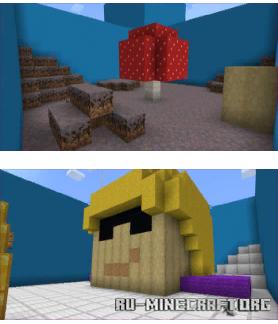 Скачать Lulu Find The Button (Minigame) для Minecraft PE