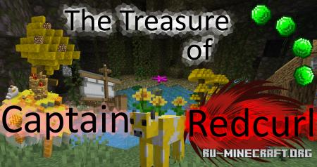 Скачать The Treasure of Captain Redcurl для Minecraft