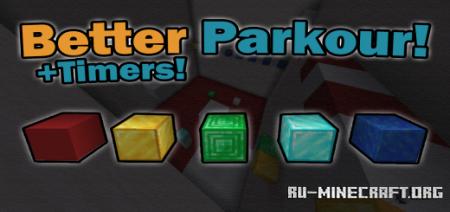 Скачать Better Parkour для Minecraft PE 1.16