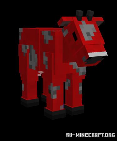 Скачать Improved Animals для Minecraft PE 1.16