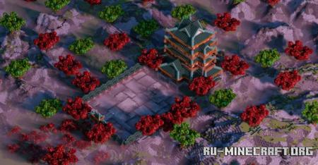 Скачать Chinese Palace by Danchik1949 для Minecraft