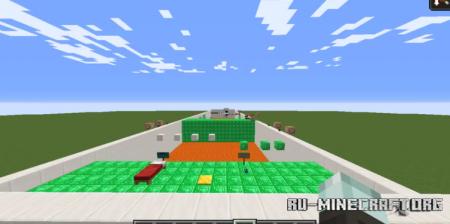 Скачать Button Parkour by GaniDev для Minecraft