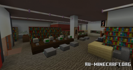 Скачать High School - Sir Winston Churchill Secondary School для Minecraft