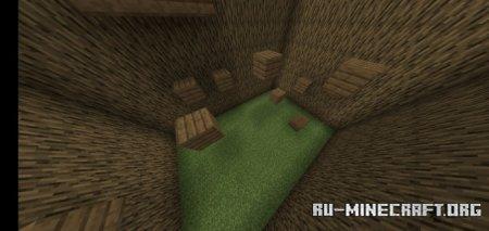 Скачать Wooden Parkour by Cloaktraw для Minecraft PE