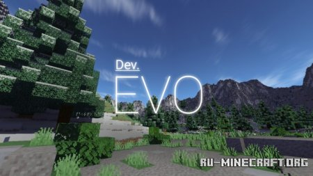 "Скачать EVO Shader V1.3 ""A New Future"" для Minecraft PE 1.16"