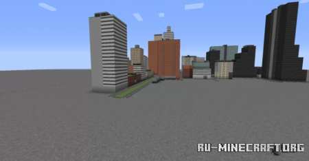 Скачать East Europe City by diod992 для Minecraft