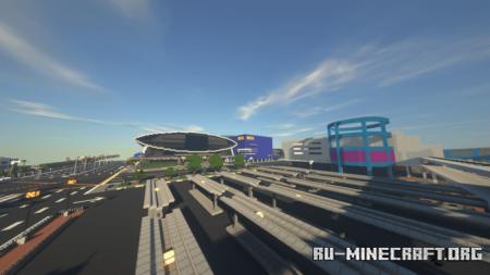 Скачать Mall Of Asia by mikkeeeyyyy для Minecraft PE