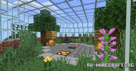 Скачать House In The Mountain by TEAM CUBITOS MC для Minecraft PE
