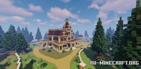 Скачать BearWood House by Mazzepa для Minecraft