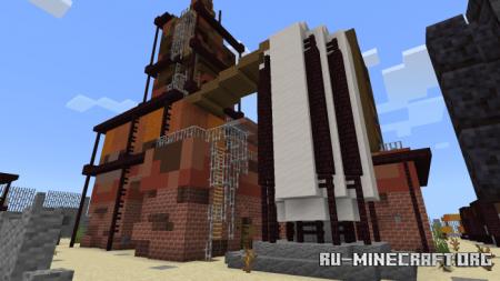 Скачать Dust - A Rust Inspired PVP Map для Minecraft PE