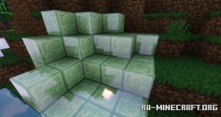 Скачать Crystal Slimes [16x] для Minecraft 1.16