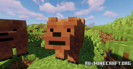 Скачать Alexs Mob для Minecraft 1.16.5