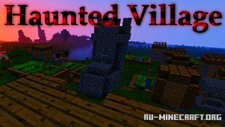 Скачать Creepy forest with a haunted village для Minecraft