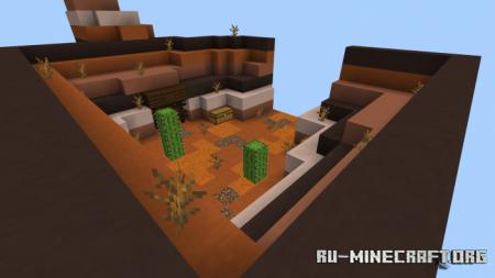 Скачать Mesa Skyblock для Minecraft PE