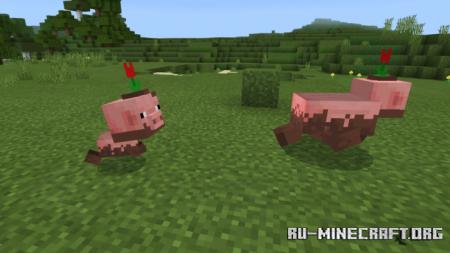 Скачать M Better Vanilla для Minecraft PE 1.16