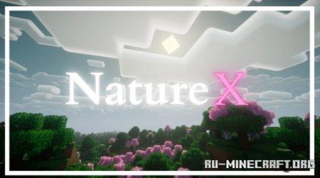 Скачать Nature X для Minecraft 1.16