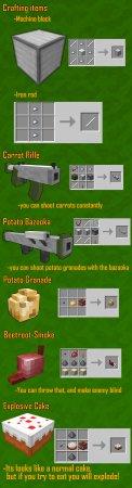 Скачать MT Garden Arsenal для Minecraft 1.16.4