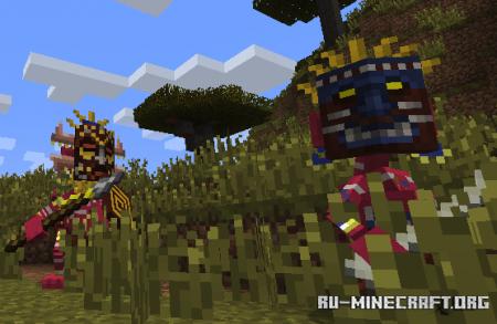 Скачать Mowzie's Mobs для Minecraft 1.16.5