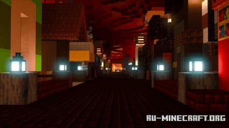 Скачать The Highland Hollows для Minecraft PE
