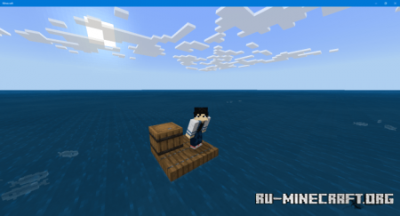 Скачать GHP's Custom Raft Survival v.2 для Minecraft PE