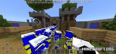 Скачать The Illagers Wave для Minecraft PE