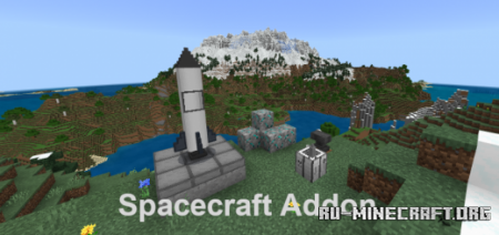Скачать Space Craft 0.4 (Updated) для Minecraft PE 1.16