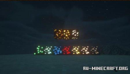Скачать Glowing Textures для Minecraft 1.16