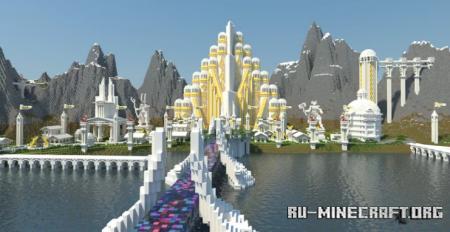 Скачать Asgard - Thor's Home для Minecraft