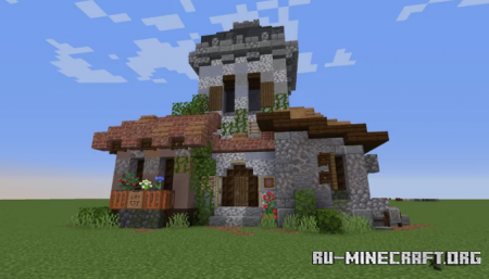 Скачать RaduKing's Houses для Minecraft