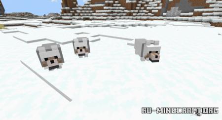 Скачать Wolves Plus для Minecraft PE 1.16