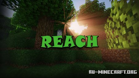 Скачать Reach для Minecraft 1.16
