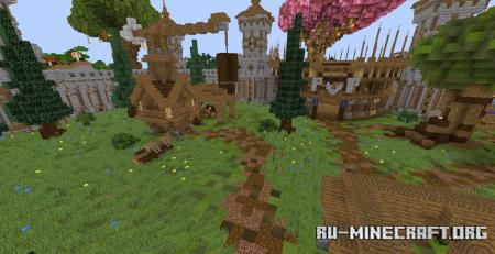 Скачать Castle Survival Spawn для Minecraft
