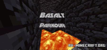 Скачать Basalt Parkour для Minecraft PE