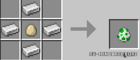Скачать More Spawn Eggs для Minecraft PE 1.16