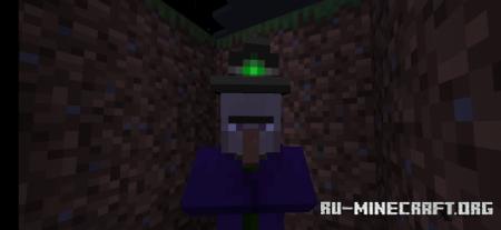 Скачать Glowing Entities для Minecraft PE 1.16