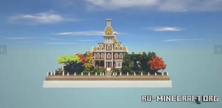 Скачать Victorian Manison by PelleNomme для Minecraft