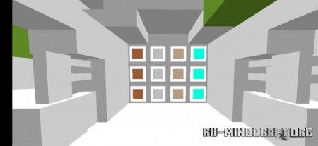 Скачать 1x1 для Minecraft PE 1.16