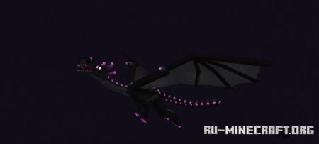 Скачать Better Ender Dragon для Minecraft 1.16