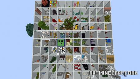 Скачать Parkour Everything by XDUDI'S TEAM для Minecraft