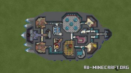Скачать Among Us Maps Recreated для Minecraft PE