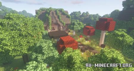 Скачать Fairy Cottage by Father_Pigeon для Minecraft