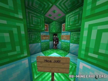 Скачать Helix Parkour REDUX для Minecraft PE