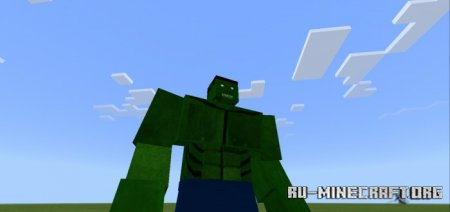 Скачать Addon Hulk для Minecraft PE 1.16